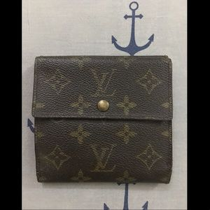 Authentic Louis Vuitton Monogram Elise Wallet